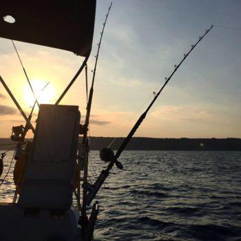 הפלגת דייג ביאכטה
